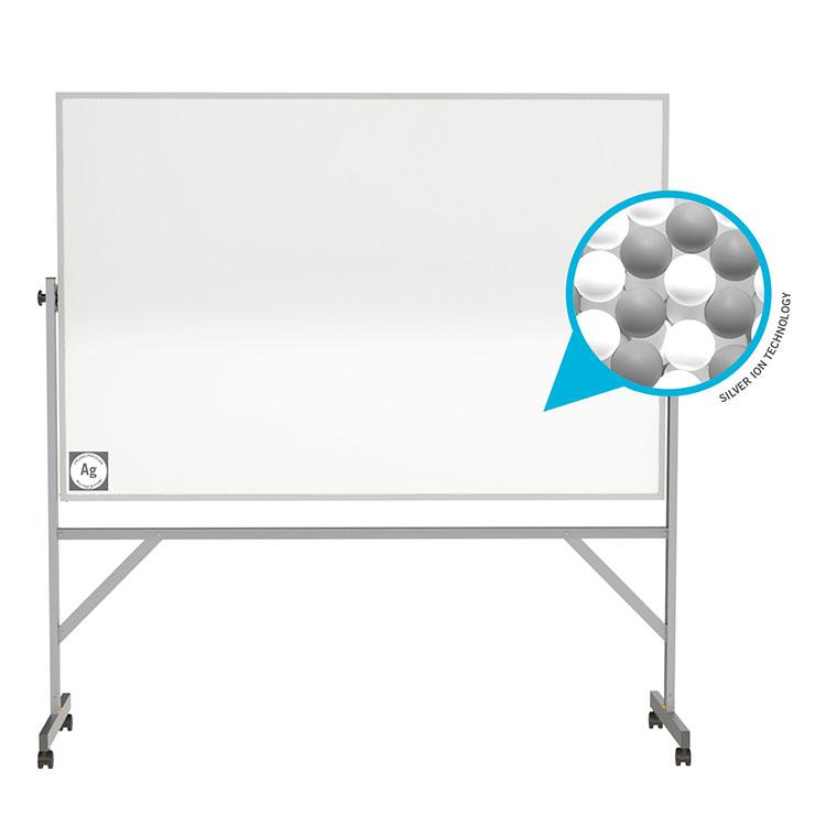 Hygienic Porcelain Mobile Whiteboard