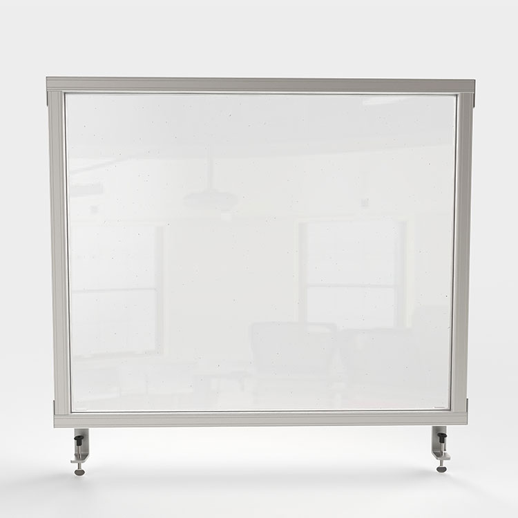 Attachable Desktop Protective Screen
