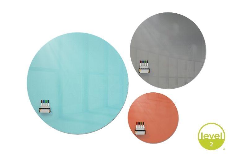 Coda Circle Glassboard