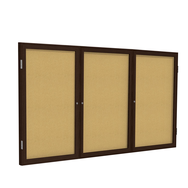 Enclosed Cork Bulletin Boards