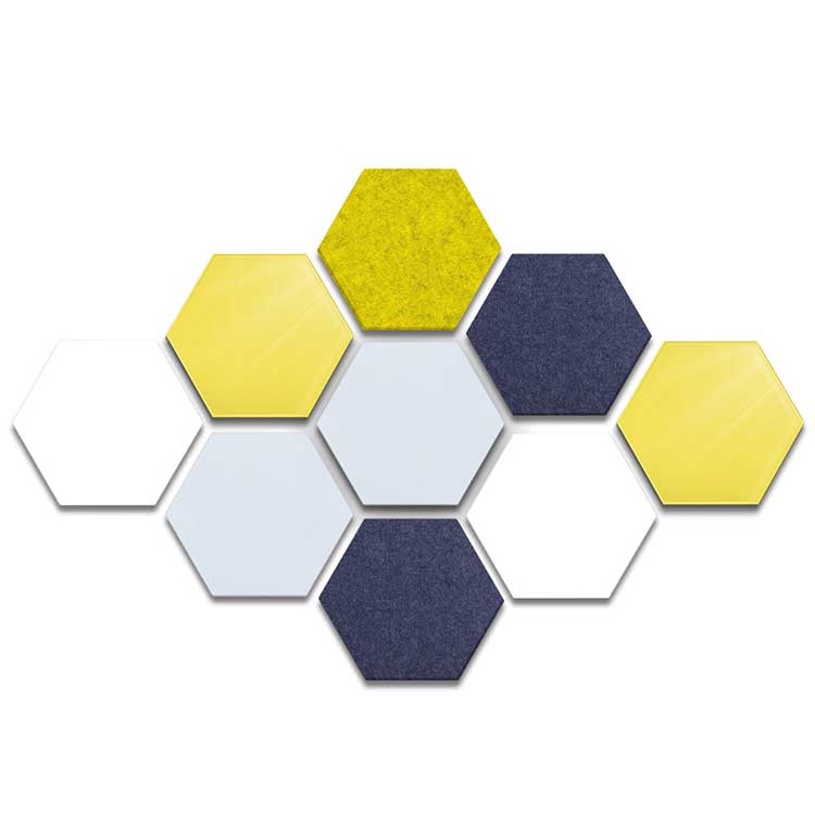 Hex Whiteboards and Bulletin Boards